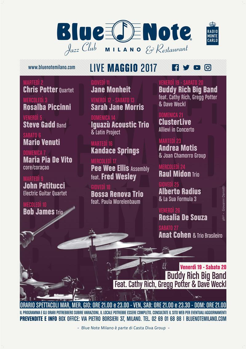 blue note cluster live 2017