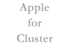 Apple for Cluster