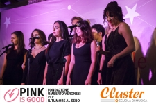 Scuola di Musica Cluster a favore di Pink is Good